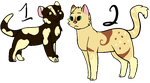 Litter 11- Brownsplash x Shytail by OtterxSorrel