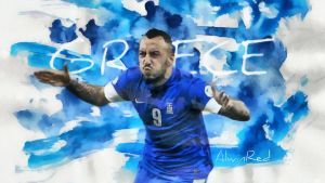 World Cup - Greece (Hellas) by alwinred