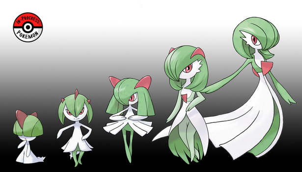 280 - 282 Gardevoir Line by InProgressPokemon
