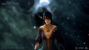 Dragon Age: Inquisition, Morrigan wallpaper by olegavi