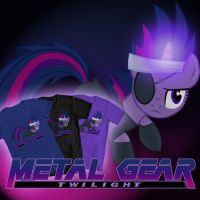 Metal Gear Twilight Design by preciouslittletoasty