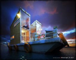 BoatHouse - 1 by Zorrodesign