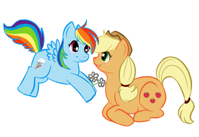 Appledash: Flowers for my Girl by lulubellct