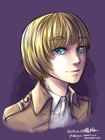 Armin - color sketch by PlatinaSi