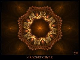 Chrochet Circle by Brigitte-Fredensborg