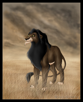 The Lion King: Scar by Zamkowa