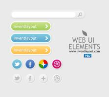 Web UI Elements by atifarshad