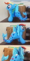 Rainbow Dash the Seapony by MintyStitch