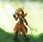 Blood Elf Mage by Delpheus