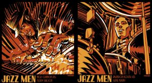 Jazz Men by urban-barbarian