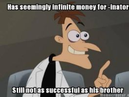 Doctor Doofenshmirtz Meme by UltimaWeapon13