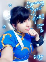 Chun Li selfie - Street Fighter by Pinkie-Bunny-Cosplay