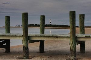 Cape Lookout Docks by pewter2k