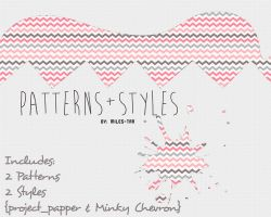 2Patterns+Styles pack by Miles-tan