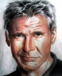 Harrison Ford. by WilliamMcKay