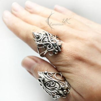 Zodiac Collection Taurus and Cancer - Silver by LUNARIEEN