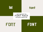 Fonts Pack 1 By Black-white-life by ByEny