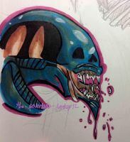 Alien by the-painted-lady12