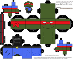 Cubee - Dr. Raphael by CyberDrone