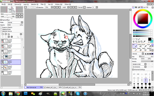 :AT: with VictoriWind WIP by Sharkic-ii