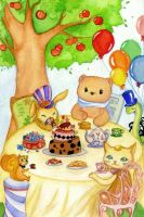 tea party by killien