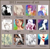 2011 summary of art by 3lda
