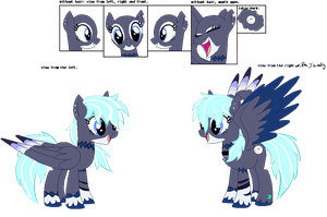 Moon Phase as a pony by AkariN3ko