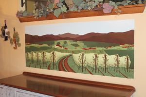 Vineyard Mural Commission by wetcanvas