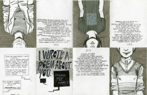 I Wrote a Poem About You Zine by Merrile