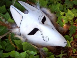 Fox Shaman Mask by savagedryad