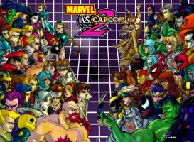 Marvel VS Capcom 2 by none4ROMiR