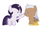 Mage and Silver Quill-the other way by Justthebrony