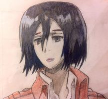 Mikasa! by AnimeLoverOCD