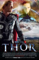 Thor Movie Poster by nicolehayley