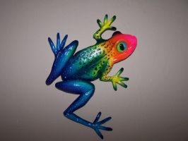 Rainbow Frog by JP-3D