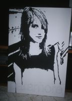 Paramore - Hayley Williams WIP by Drawer88