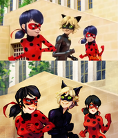 Miraculous Ladybug screencap redraw by saltandfrost