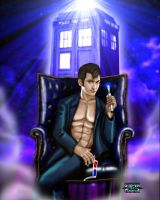 Doctor Who by Steven-H-Garcia