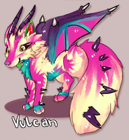 Vulcan (a MelonyCreations Adoptable) by Eric4372