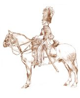 Dragoon of Scots Greys 1854 by mr-macd