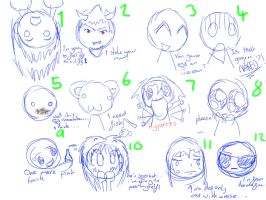 :D Expressions (COMPETITION) by nenogirlygirl