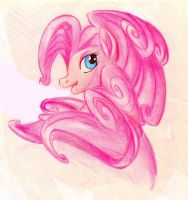 Pinky Pie - color sketch by winddragon24
