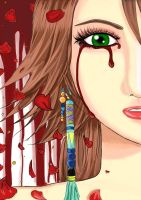 Yuna Cry Blood by hikariyumi92