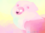 Cotton Candy King of the Jungle by TaMarchingTomahawk