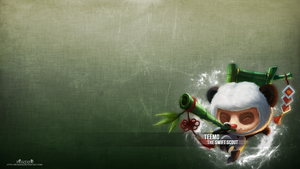 LoL - Panda Teemo Wallpaper by xRazerxD