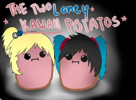 -Gift: Lonely kawaii Potatos- by KHStyler-chan