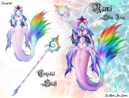 Nami Rainbow Betta Skin by Inu-Nee