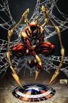 Iron Spider-Man - Simon Gough colors by SpiderGuile
