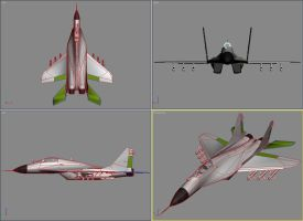 Mig-29 Printscreen by senor-freebie