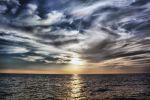 Sunset Over Indian Ocean by caie143